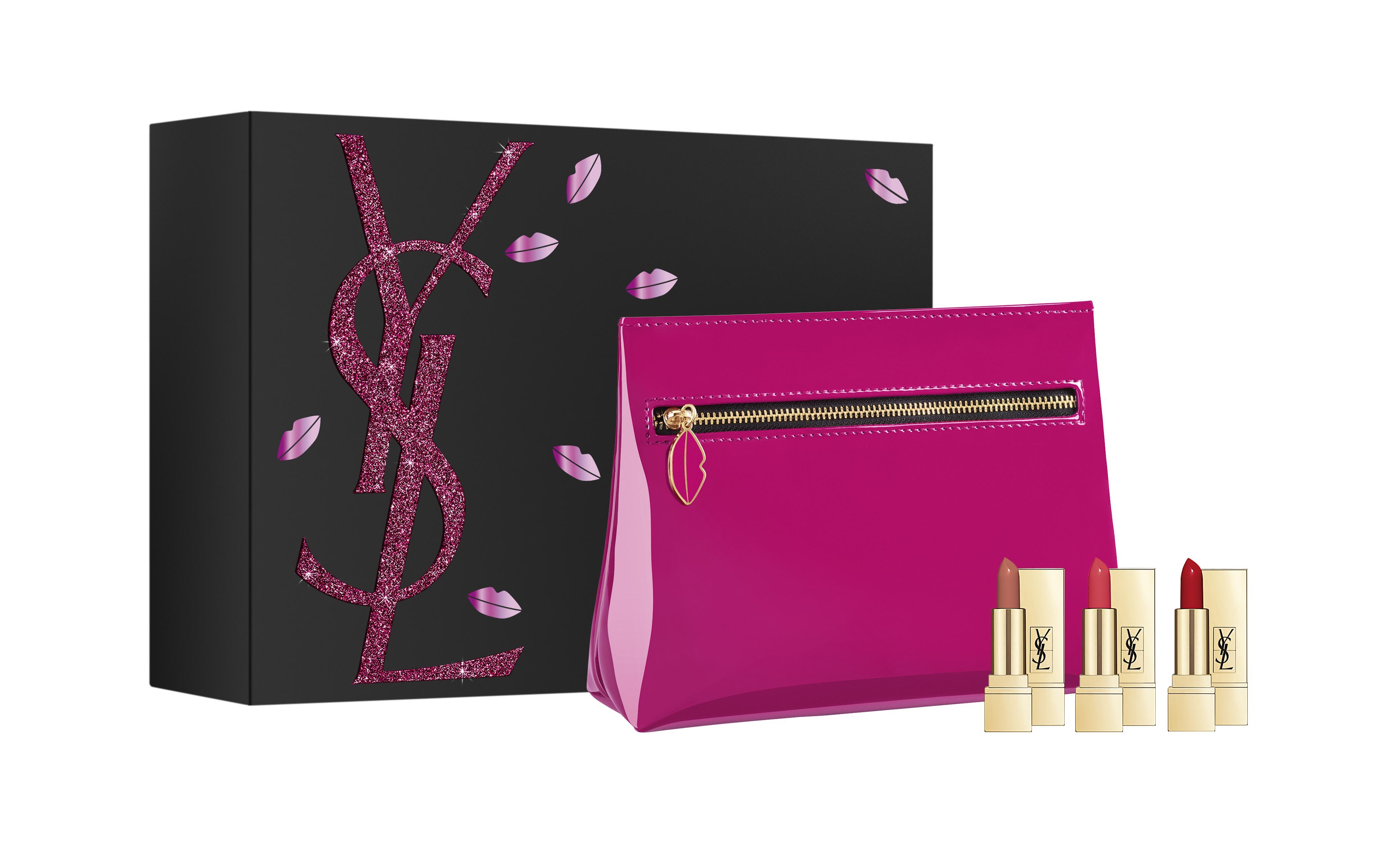 奢華緞面唇情禮盒