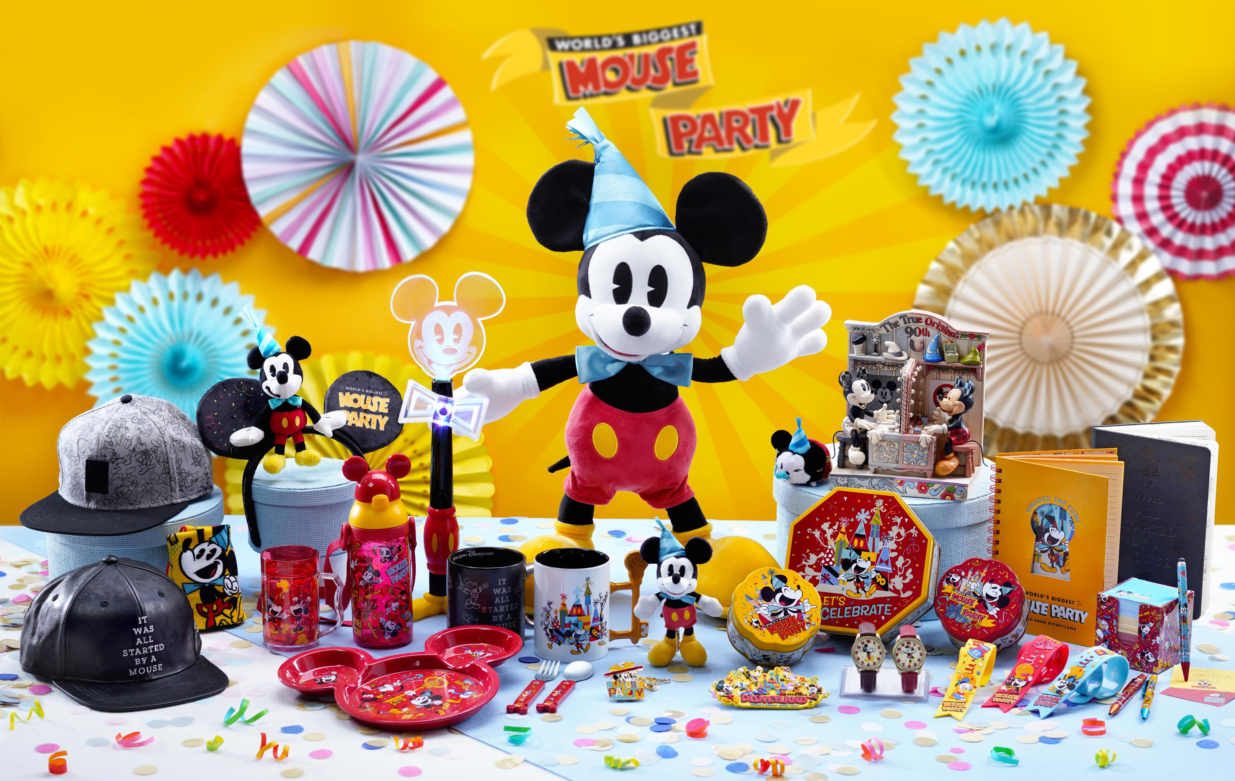 香港迪士尼 米奇生日