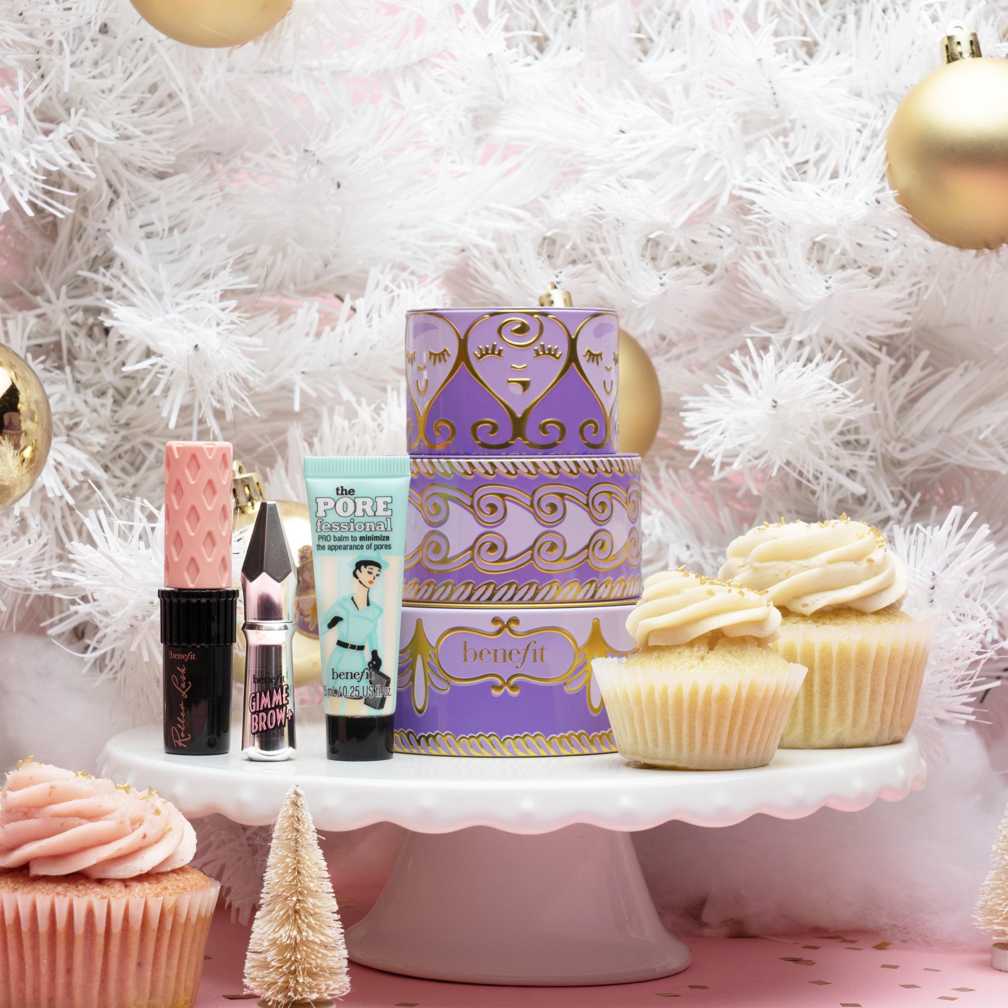 經典小明星紫色彩妝盒