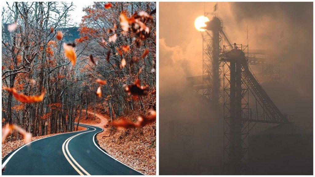 氣溫變化大、空氣中的污染