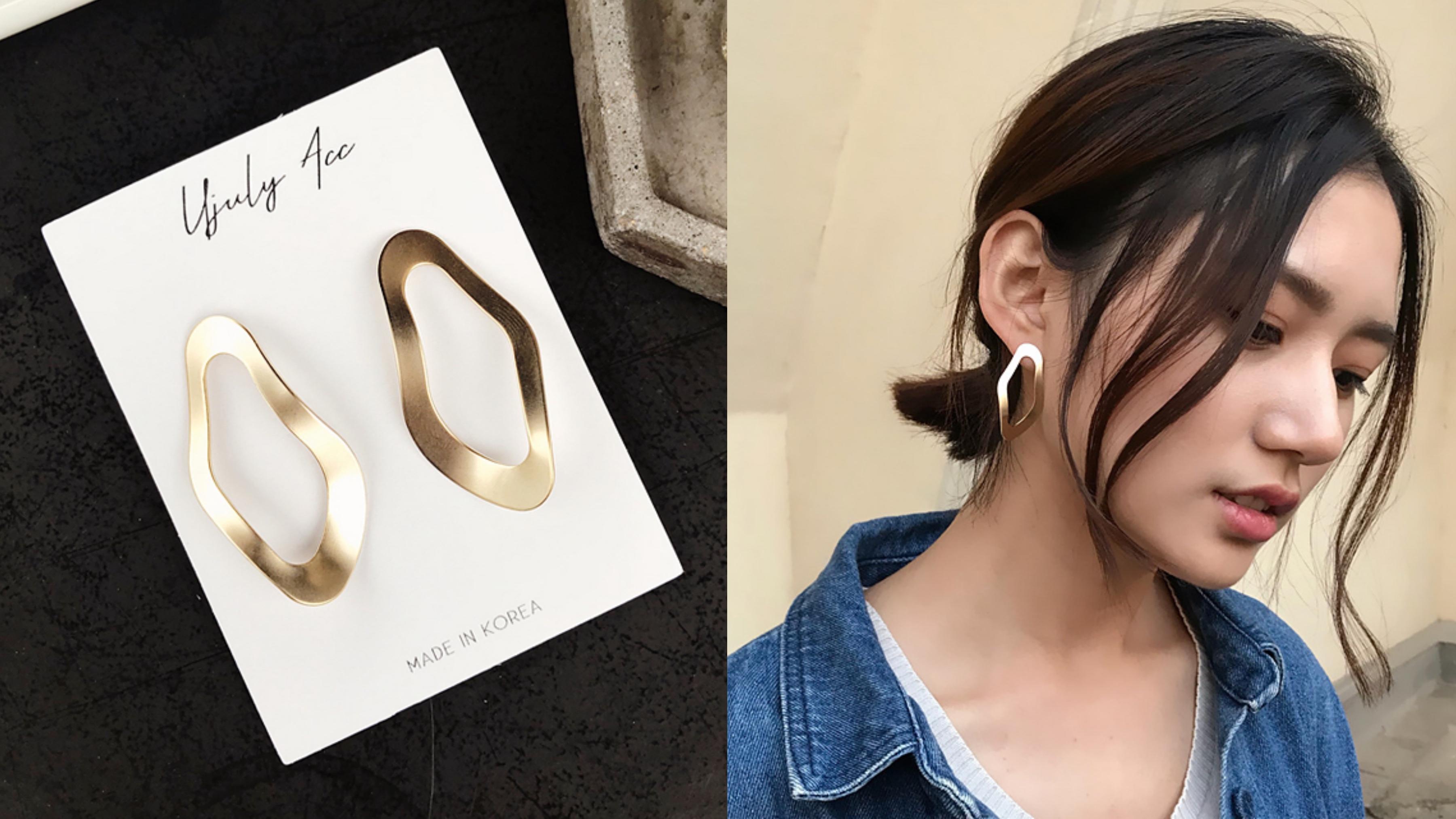 耳環 韓國 風格