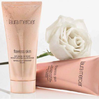 laura mercier粉紅家族勢力壯大 「玫瑰極萃面膜系列」登場!肌膚帶水又內建濾鏡!