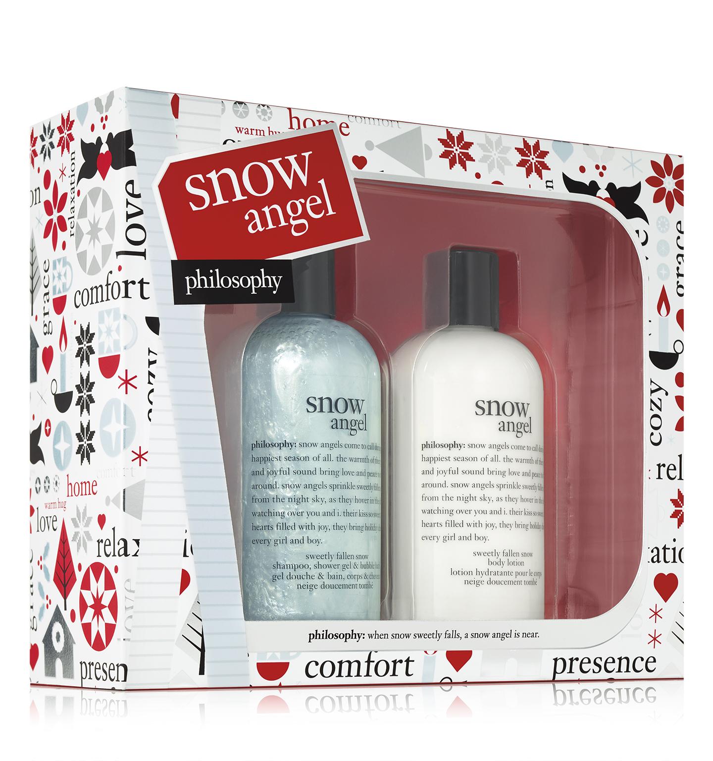雪中精靈香氛美體組 售價NT1,000