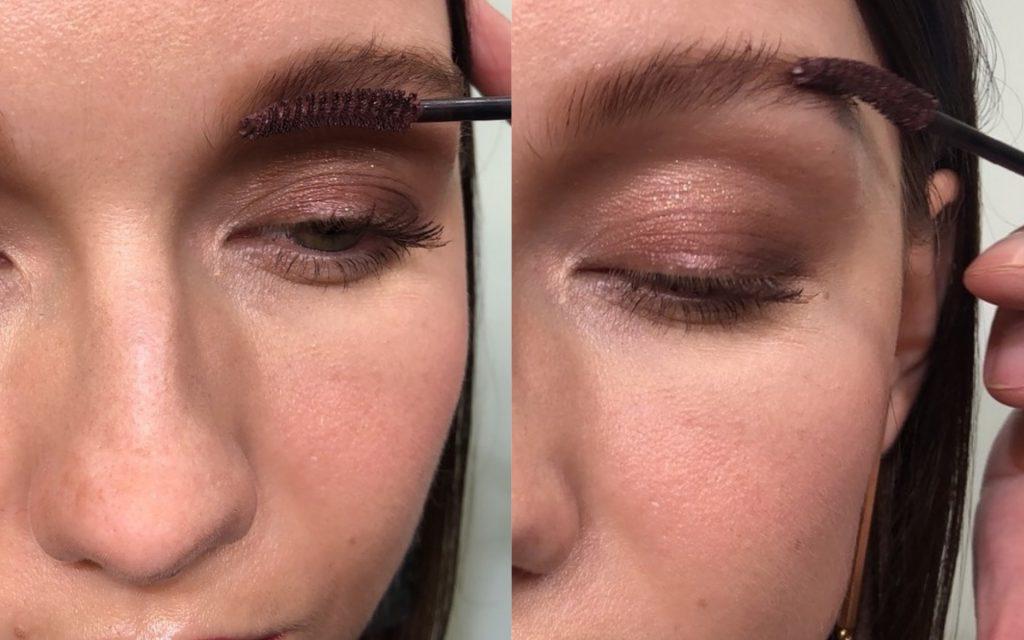 莓果紫眉毛