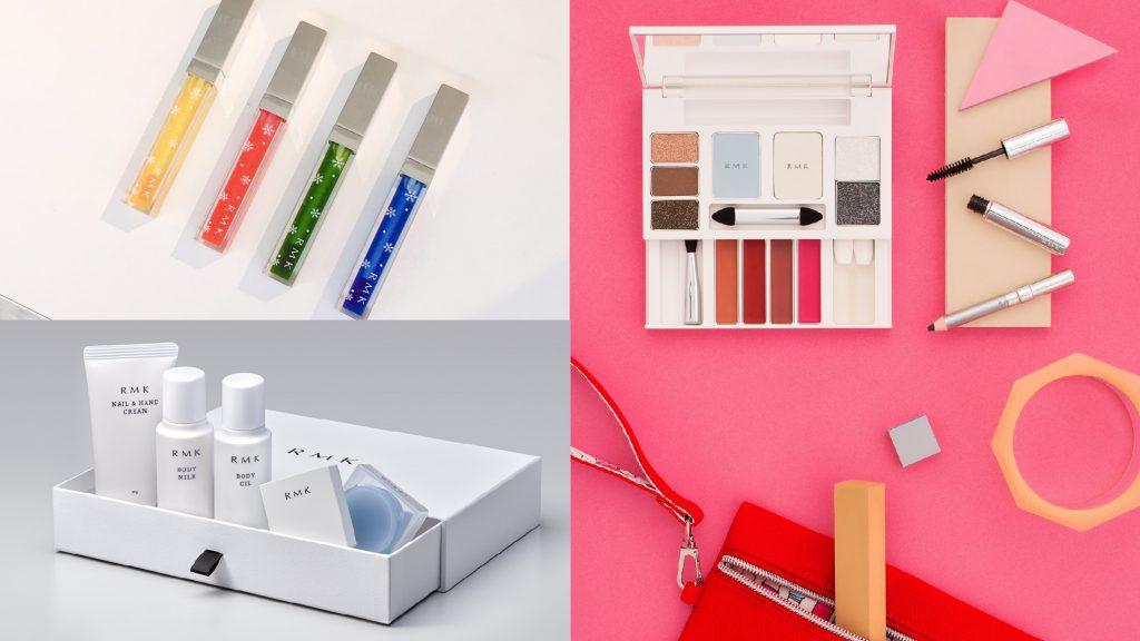RMK聖誕限定彩妝x底妝組!聯手插畫家Laura Denton打造百變Color Closet!