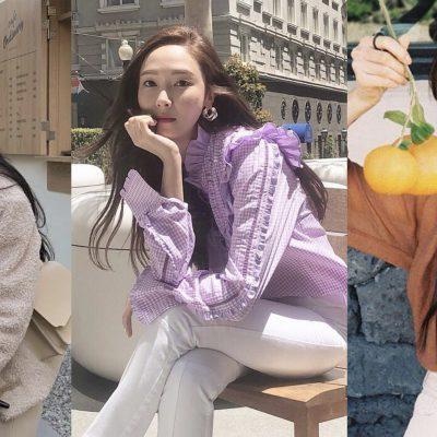 Jessica 朴敏英 穿搭 時尚 韓星 韓妞 首爾 旅行