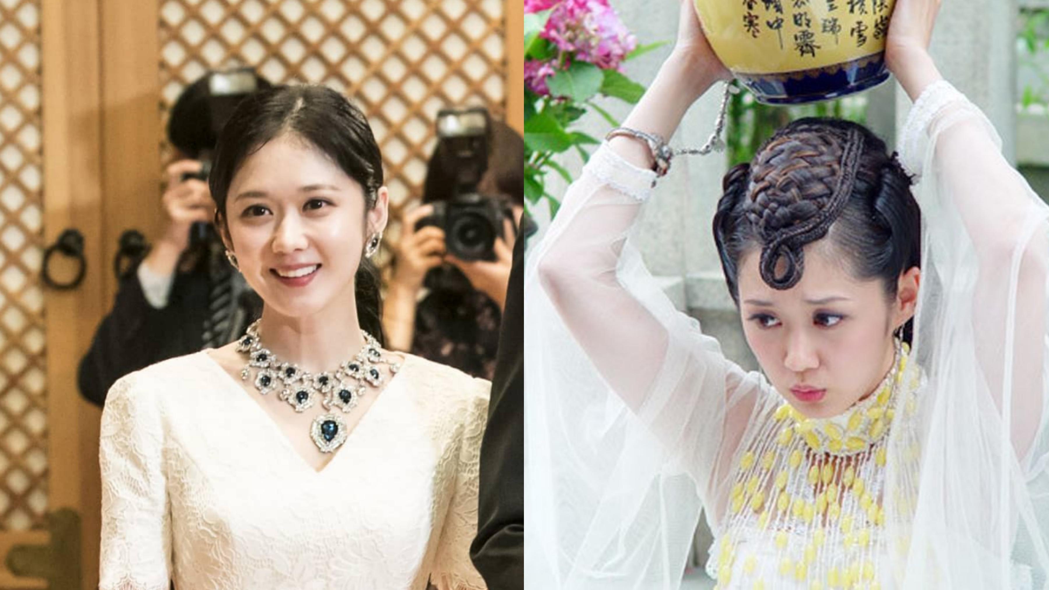 2005年所演出《刁蠻公主》(圖右)的張娜拉與2018年出演《皇后的品格》(圖左)幾乎沒改變,是不是也該動起來保養了呢?