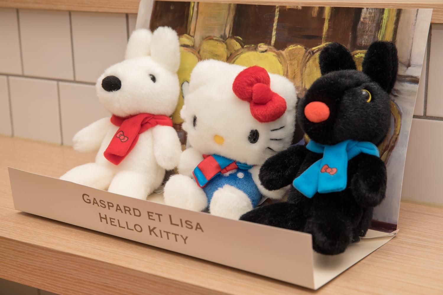 麗莎和卡斯柏 x Hello Kitty
