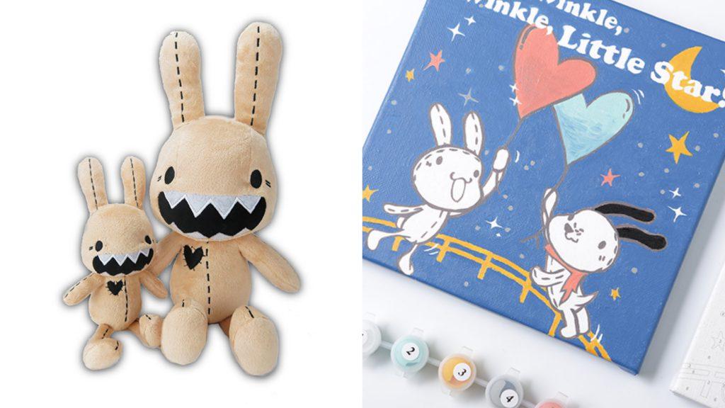 Foufou Bunny數字油畫組