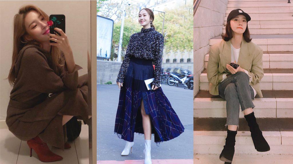 韓國 首爾 襪靴 Jessica 朴信惠