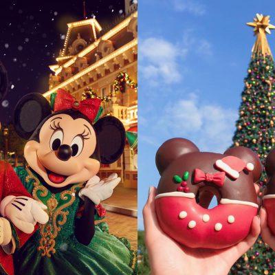 香港迪士尼 跨年 聖誕節