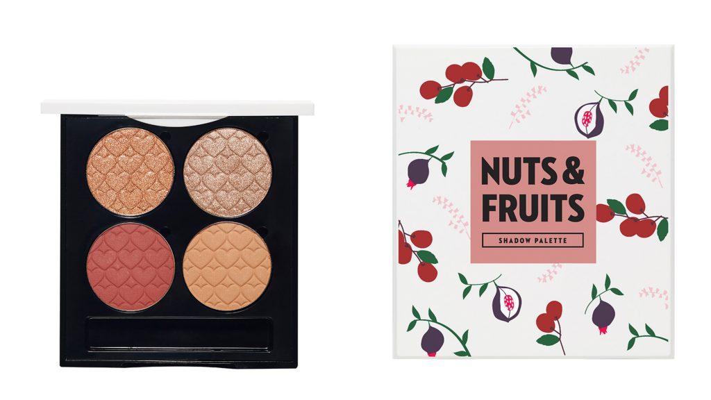 訴說心語眼彩四格收納盤(Nuts&Fruits)