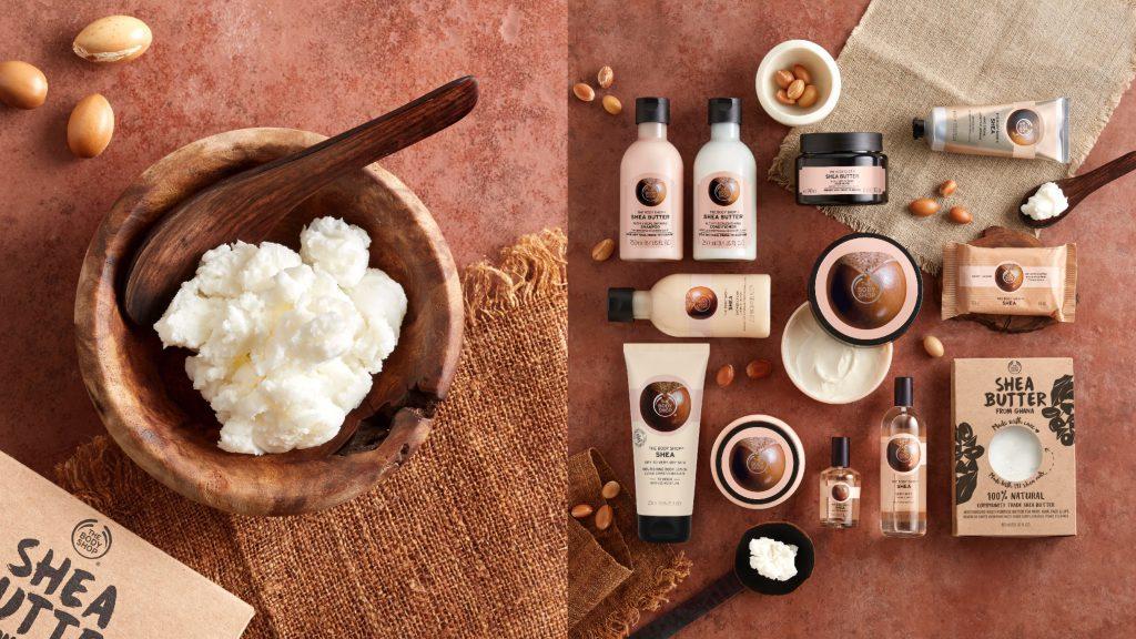 THE BODY SHOP乳油木果系列