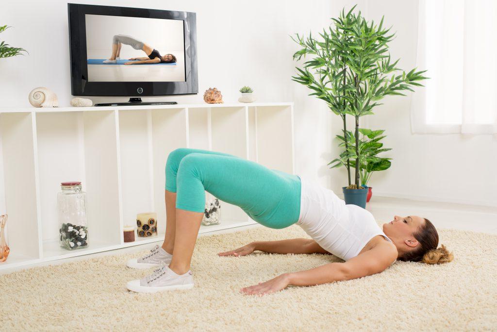 訓練腿臀核心
