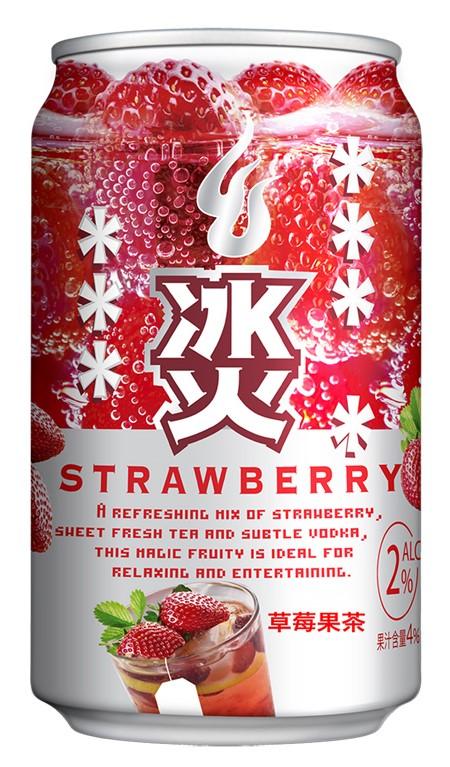 冰火草莓果茶口味/NT.49
