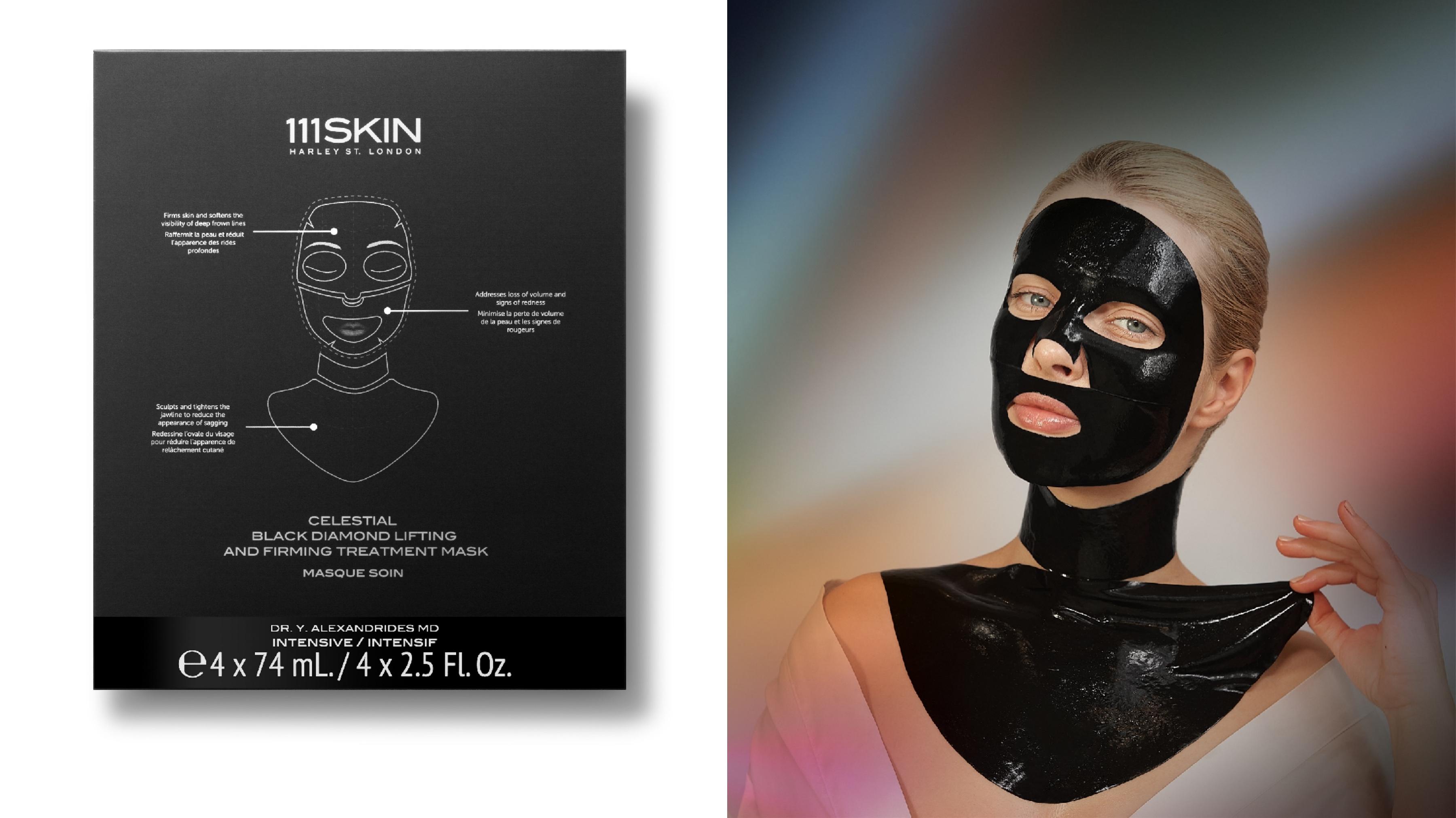 111SKIN黑鑽超光速黑色夢露面膜 74 ml x 4份 / NT. 6,480