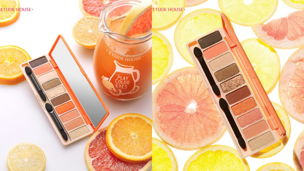 橙漾果汁吧眼彩盤10 色/NT.990