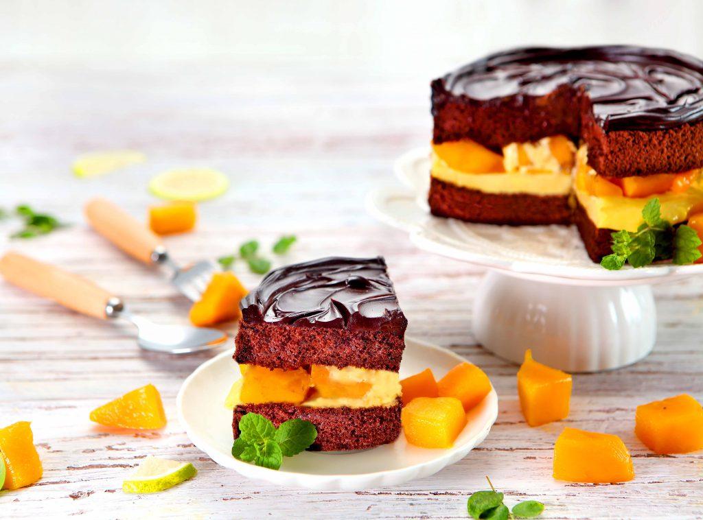 BLACK As Chocolate鮮芒果礦石蛋糕