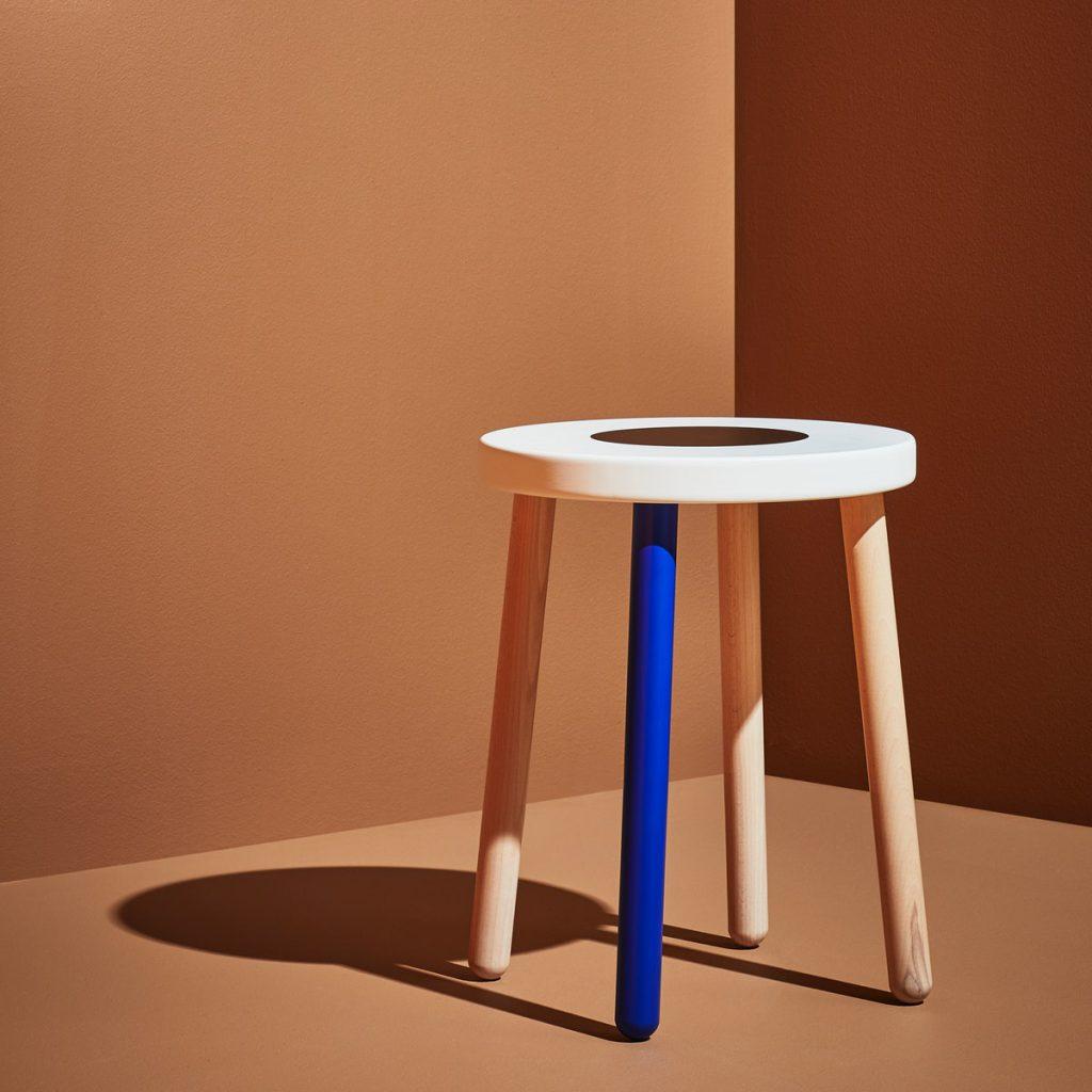 FÖRNYAD椅凳-櫸木 白色/NT.1,290