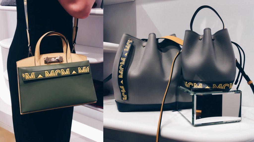 MCM 「Milano」系列將品牌LOGO減去,與幾何色塊重新結合