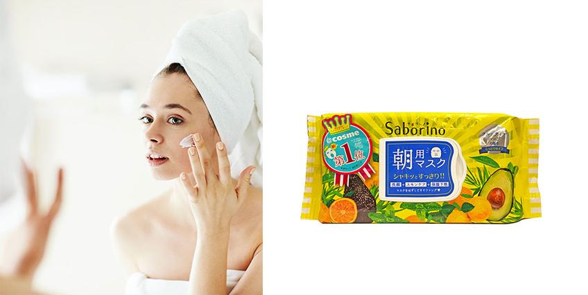 快速清潔保養: Saborino早安面膜