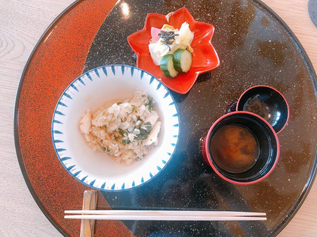 The Ukai Taipei 炭烤太刀魚土鍋炊飯