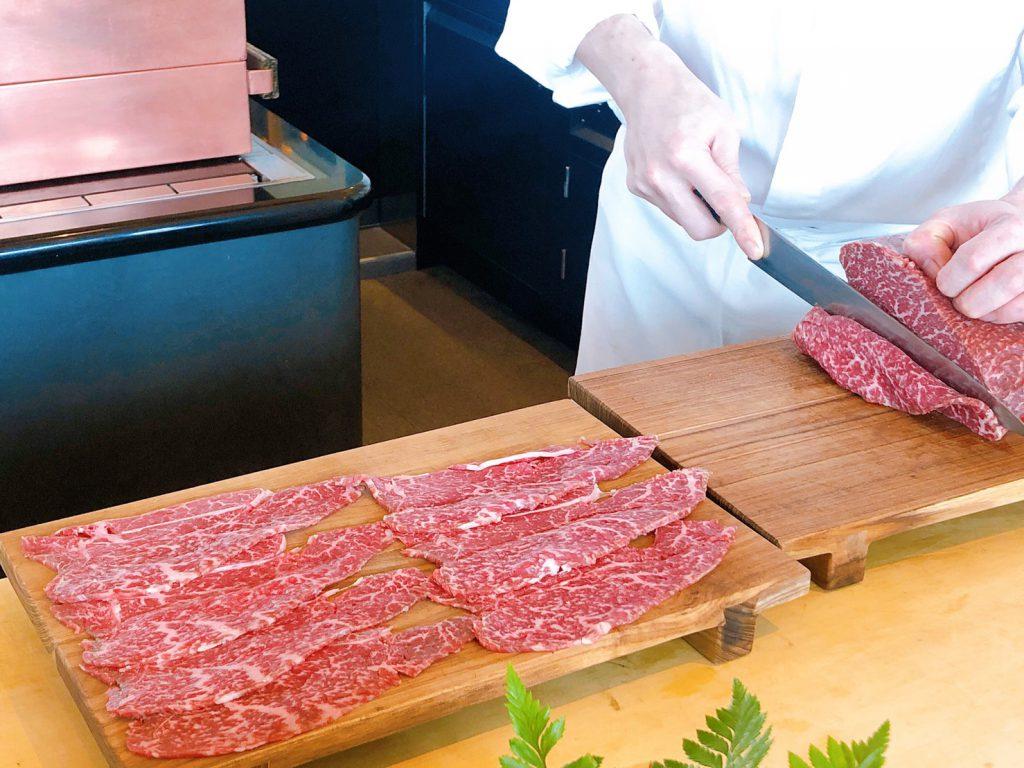 The Ukai Taipei 手切和牛肉片