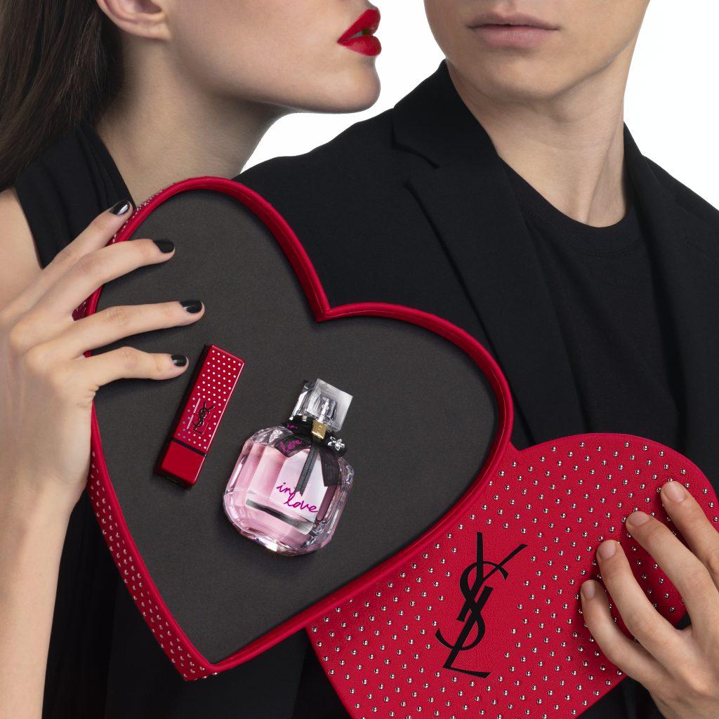 奢華緞面絲絨唇膏+慾望巴黎淡香精 星木蘭愛戀版禮盒 NT$5,350