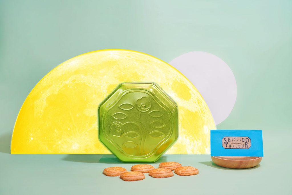 SHISEIDO PARLOUR花椿餅乾禮盒 Melon Green限定版 32入/NT.1,160