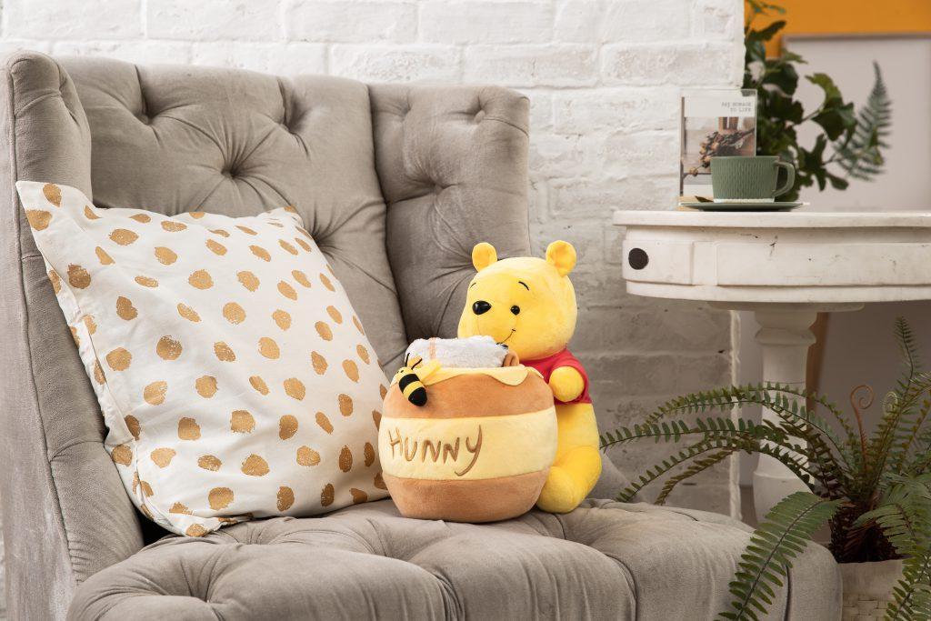 維尼造型蜂蜜罐裡有毛毯(1款)加價購 NT.599