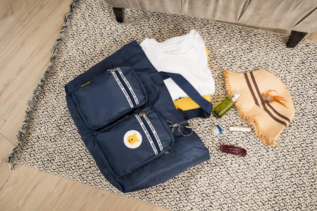維尼系列百變旅行袋收納 (1款)建議售價 NT.1,599,加購價 NT.399