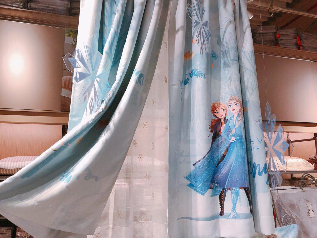迪士尼系列Frozen 2 半腰窗簾270X165CM 半腰窗紗270X165CM