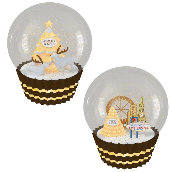 金莎聖誕水晶球