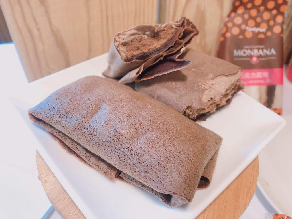 全家MONBANA 法式巧克力薄餅