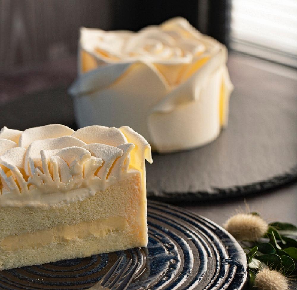 「白色戀人」玫瑰蛋糕 NT$799