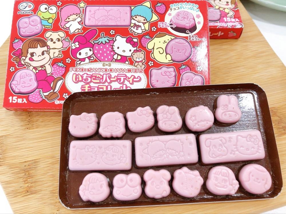 日本Peko造型代可可脂巧克力