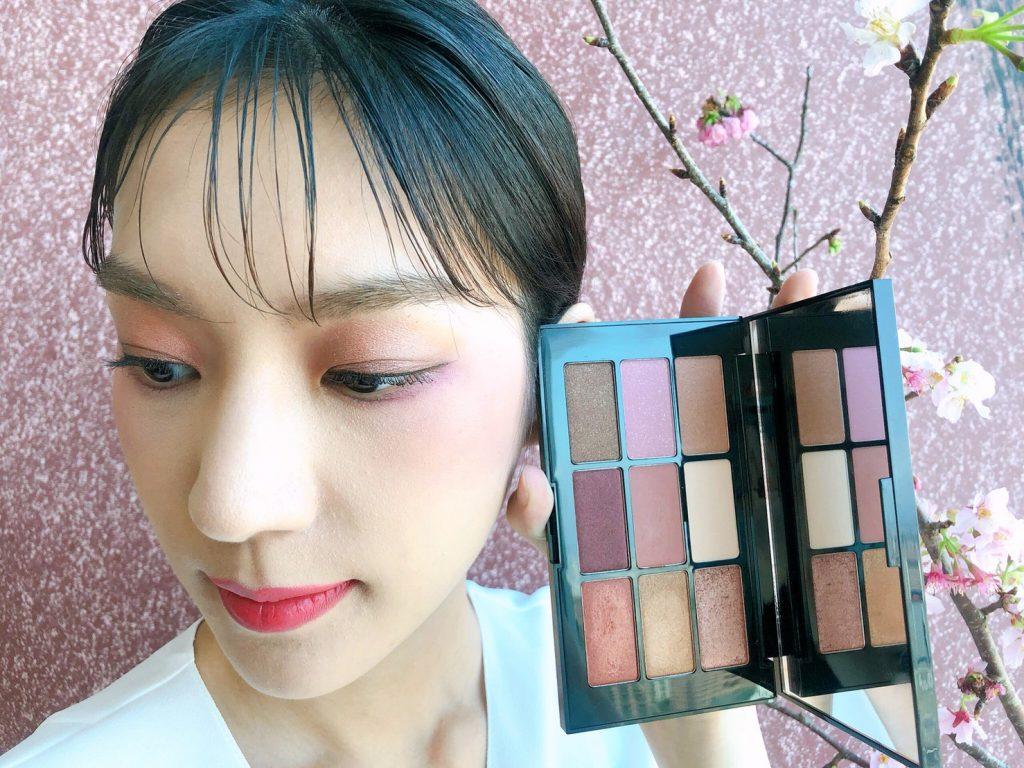 2020時尚大師9色眼影盤(櫻花柔粉)