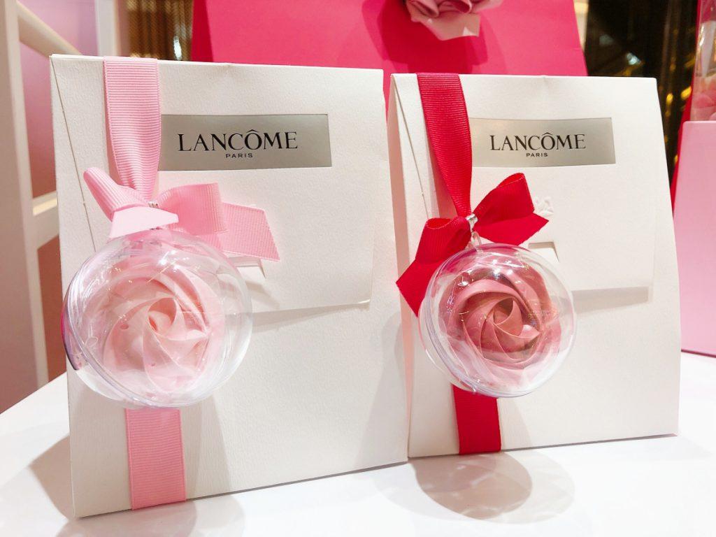 蘭蔻糖霜玫瑰包裝禮