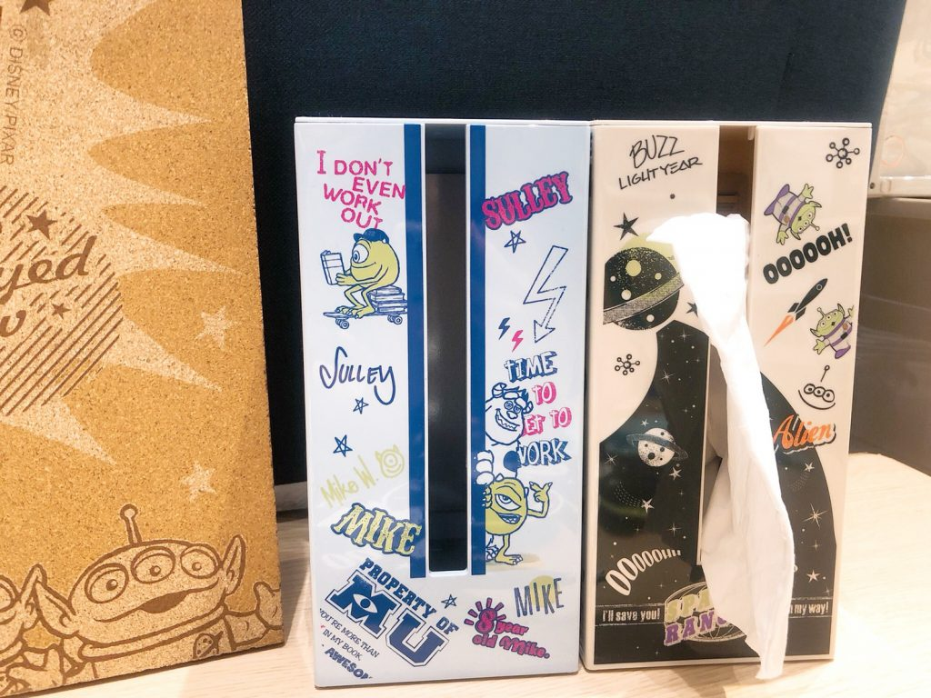直立面紙盒(Monsters/Toy Story)各特價 NT$499