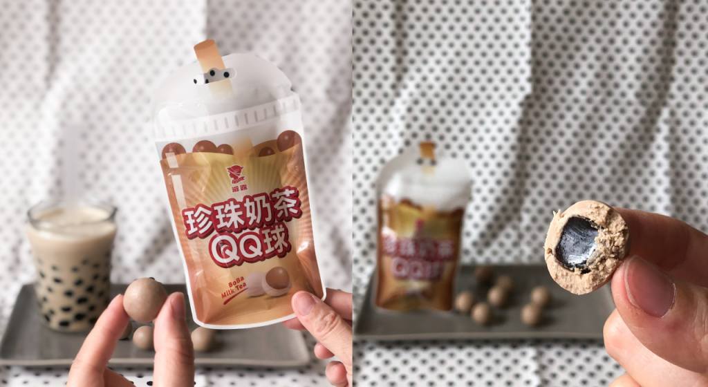 滋露珍珠奶茶QQ球
