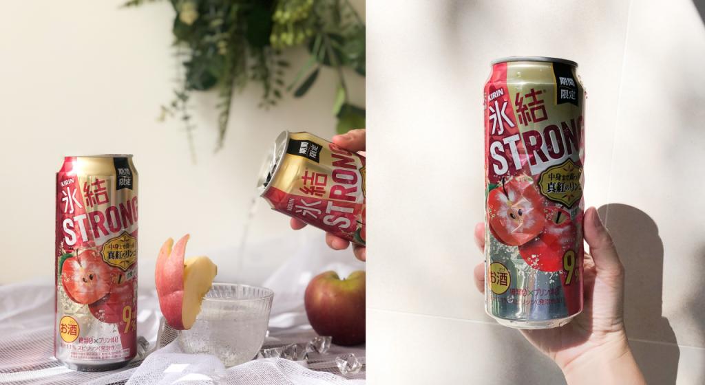KRIN冰結STRONG調酒 真紅蘋果