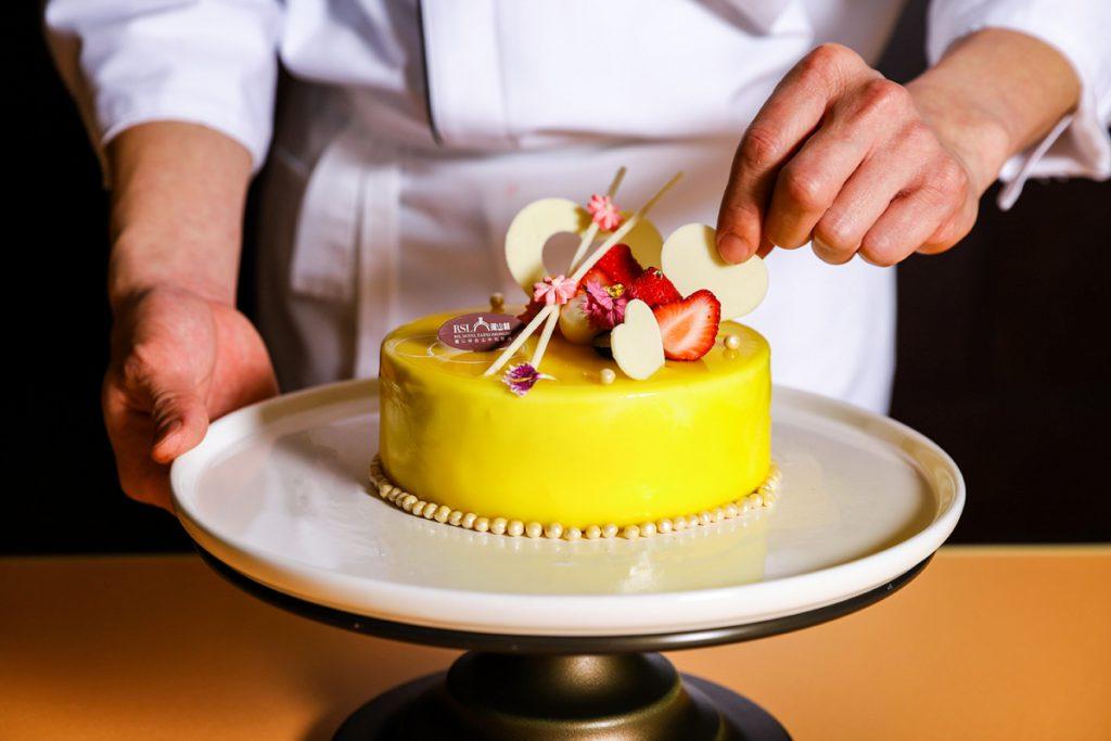 瓏山林台北中和飯店「法式雙茶百香蛋糕」6吋/NT$680