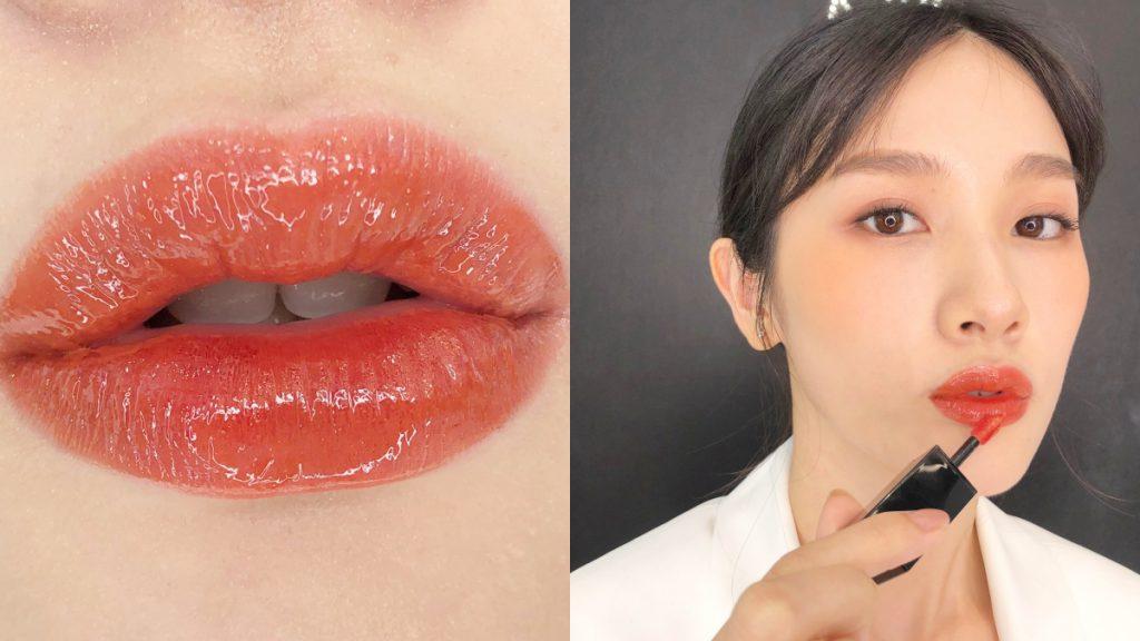 奢華緞面漆光唇釉「#434蜜桃烏龍茶奶昔」