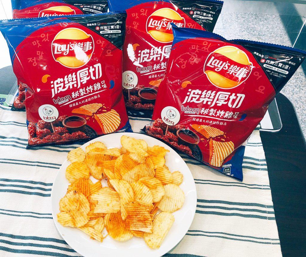 bb.q秘製炸雞口味洋芋片 NT$30