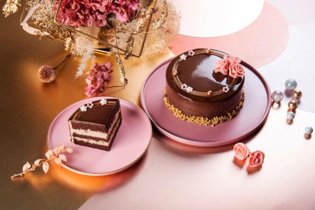 BAC花之女神甜蜜茶香蛋糕