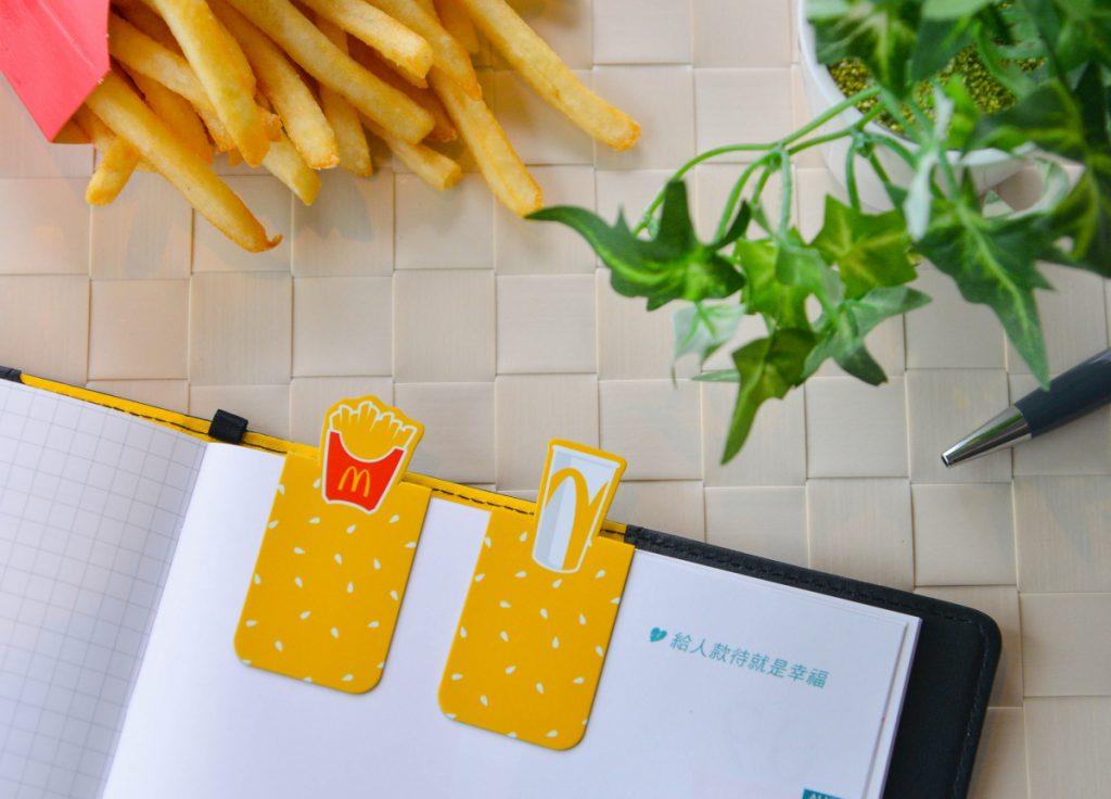 麥當勞磁鐵書籤組