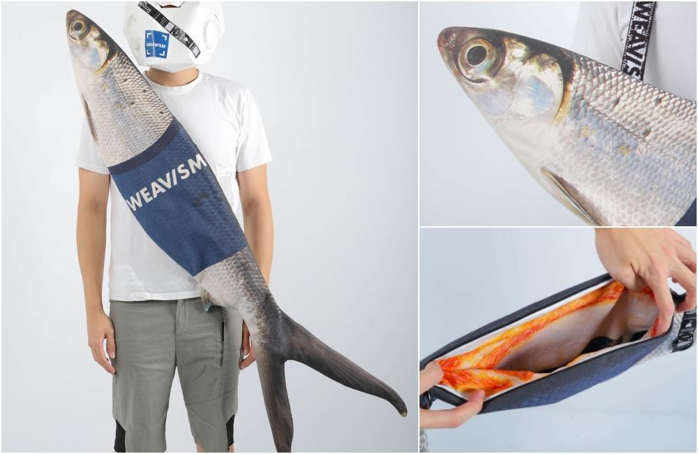 WEAVISM【正港台灣味】WHAT FISH虱目魚包包 (大) NT$ 3,280