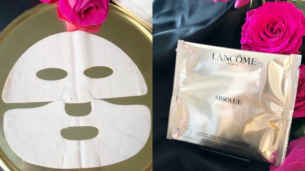 蘭蔻 絕對完美24K黃金玫瑰霜面膜(一盒5片)NT$6,500