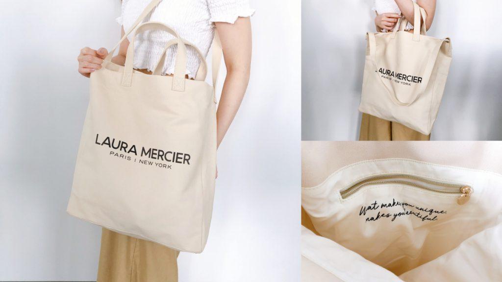 LAURA MERCIER 夏日蘿拉海灘兩用包