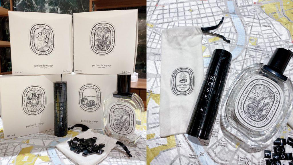 經典淡香水旅行裝 12ml/NT$3,300(杜桑、玫瑰之水、感官之水、希臘無花果)